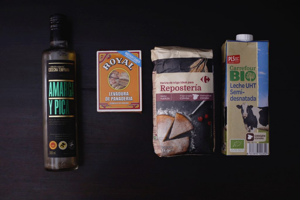 Ingredientes del pan bao