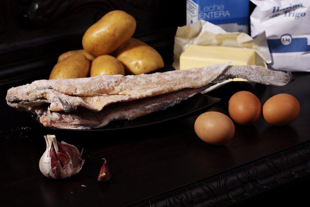 Ingredientes para Huevos benedictine