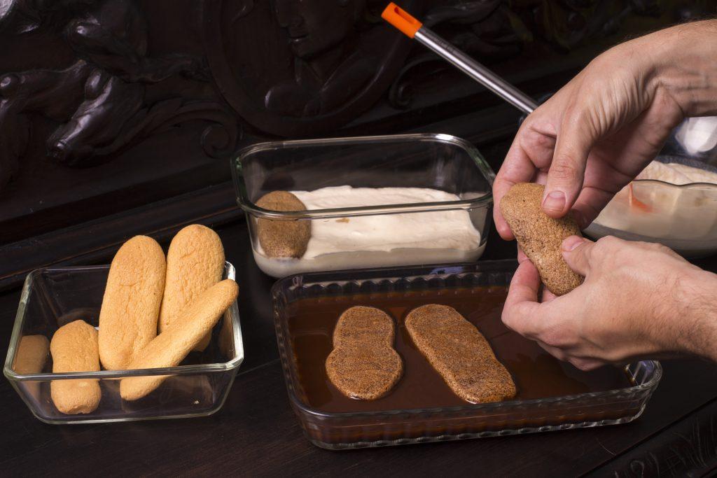 El proceso de elaboración del tiramisú