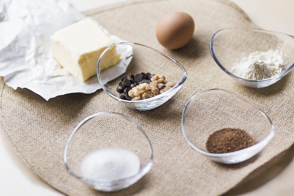 Los ingredientes clásicos de las cookies