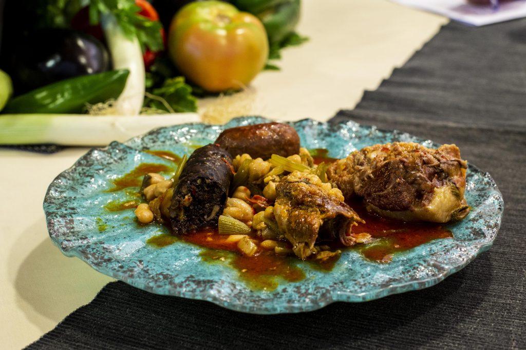 Plato 1 del concurso de la IX Jornada Gastronómica Huerta de Conil