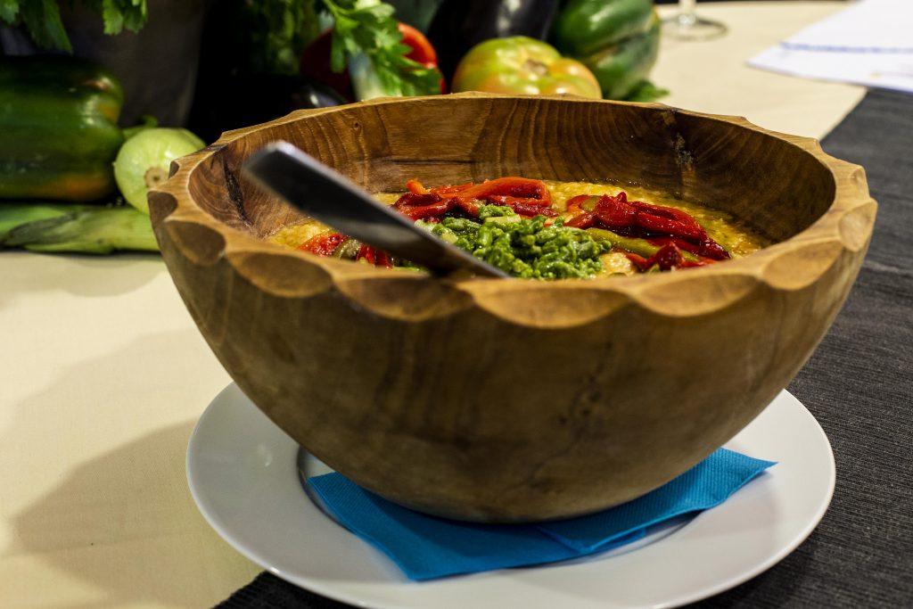 Plato 2 del concurso de la IX Jornada Gastronómica Huerta de Conil