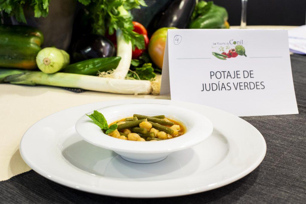 Plato 4 del concurso de la IX Jornada Gastronómica Huerta de Conil