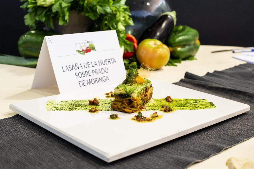 Plato 7 del concurso de la IX Jornada Gastronómica Huerta de Conil
