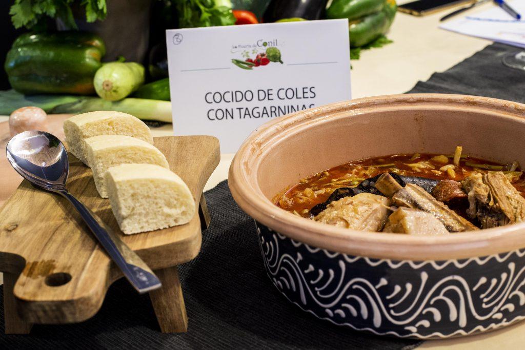 Plato 8 del concurso de la IX Jornada Gastronómica Huerta de Conil